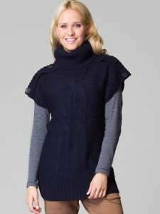 Sweter Damski Model M-39-009 NAVY